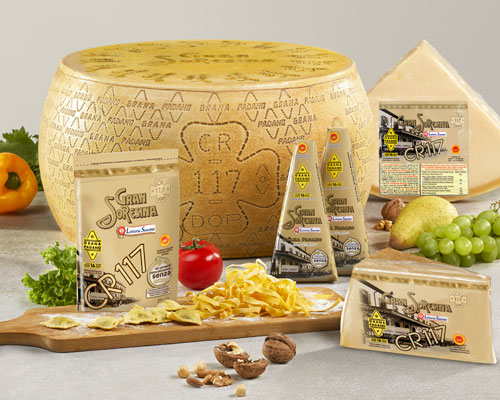 Grana Padano CR117 PDO Cheese