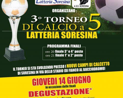 FINALE DEL TORNEO DI CALCIO A 5